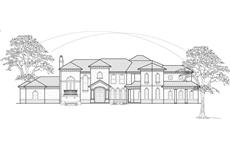 Main image for house plan # 8761