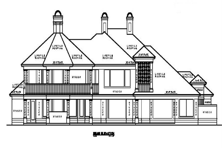 134-1289 rear elevation