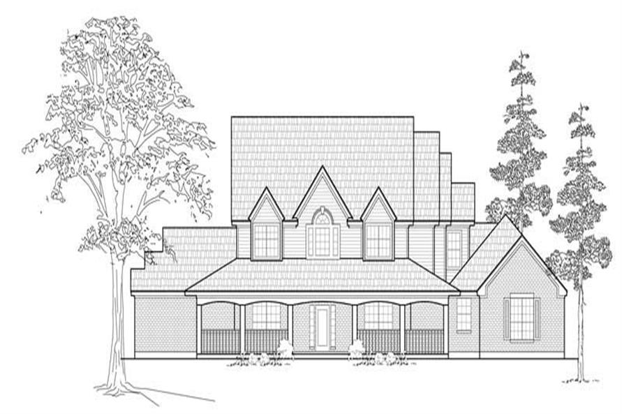Main image for house plan # 8501
