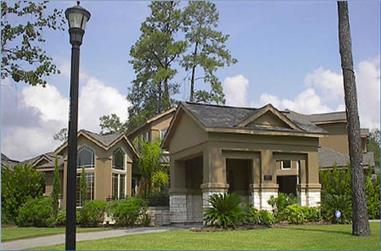 4-Bedroom, 4115 Sq Ft Luxury House Plan - 134-1299 - Front Exterior