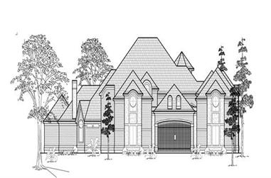Main image for house plan # 8769