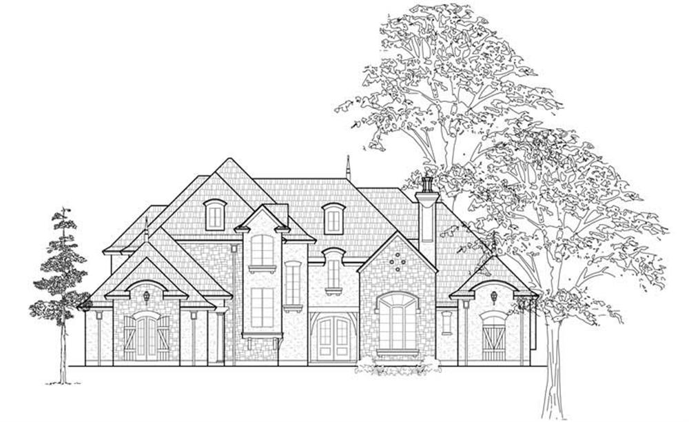 Main image for house plan # 8697
