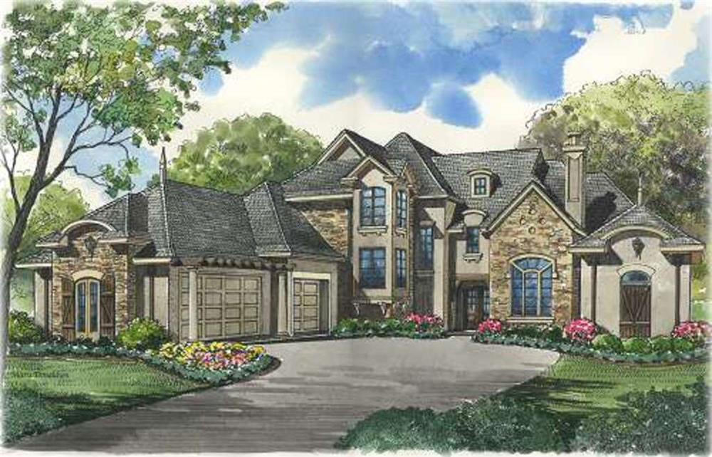 Beautiful image of house plan # 134-1322