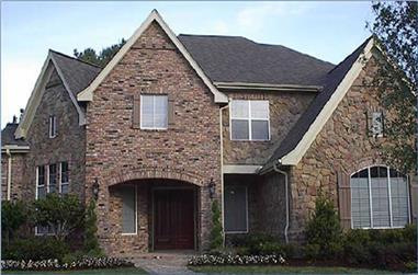 4-Bedroom, 4814 Sq Ft Luxury Home Plan - 134-1324 - Main Exterior