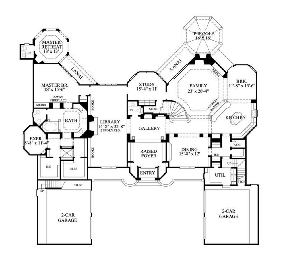 Large Images For House Plans