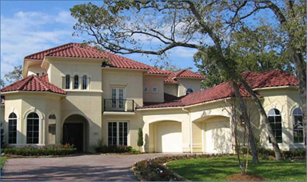 Photo of this Spanish Mission Style luxury home.
