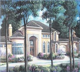 House Plan #134-1331
