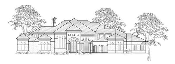 Main image for house plan # 8764