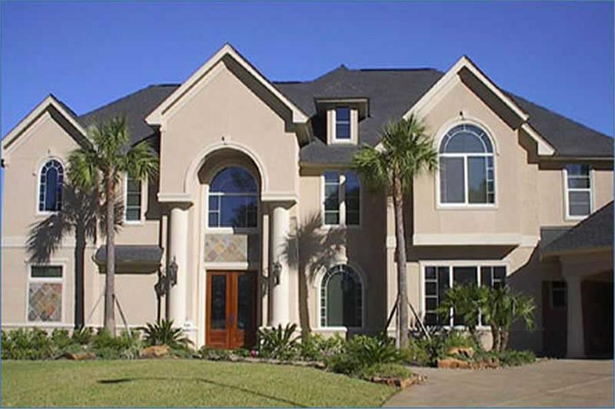 Home Exterior Photograph of this 4-Bedroom,4894 Sq Ft Plan -134-1335