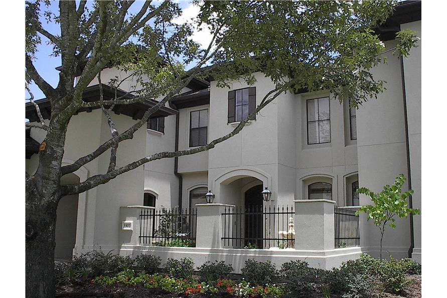 134-1339: Home Exterior Photograph-Front Door - Courtyard