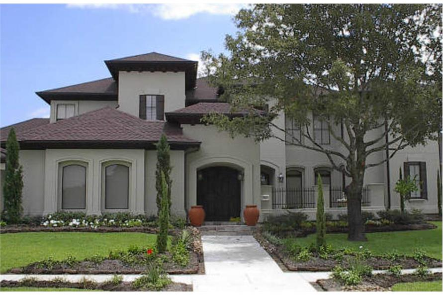 Spanish - California Style Luxury Home
