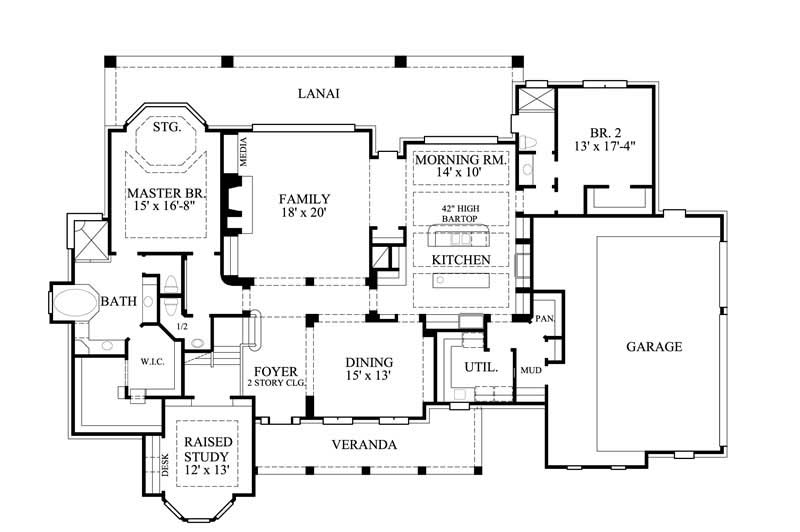 Farmhouse house plan 134 1344 4 bedrm 4323 sq ft home for Architecturally designed house plans