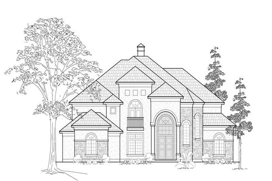 Main image for house plan # 8726