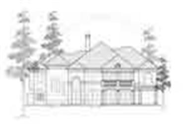 6-Bedroom, 6292 Sq Ft Luxury House Plan - 134-1353 - Front Exterior