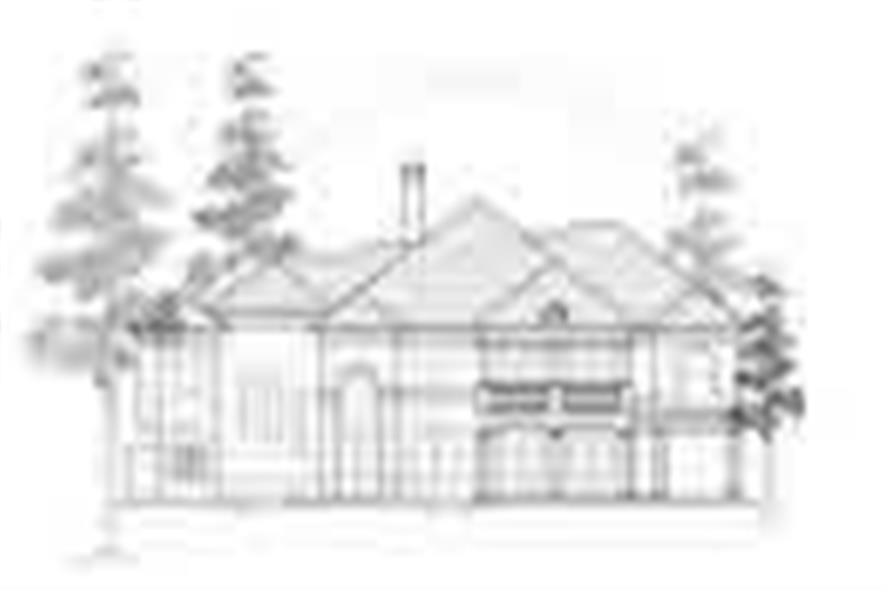 Main image for house plan # 8755