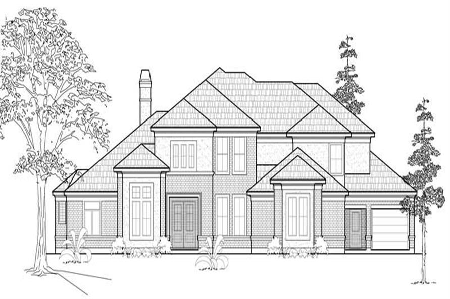Main image for house plan # 8694