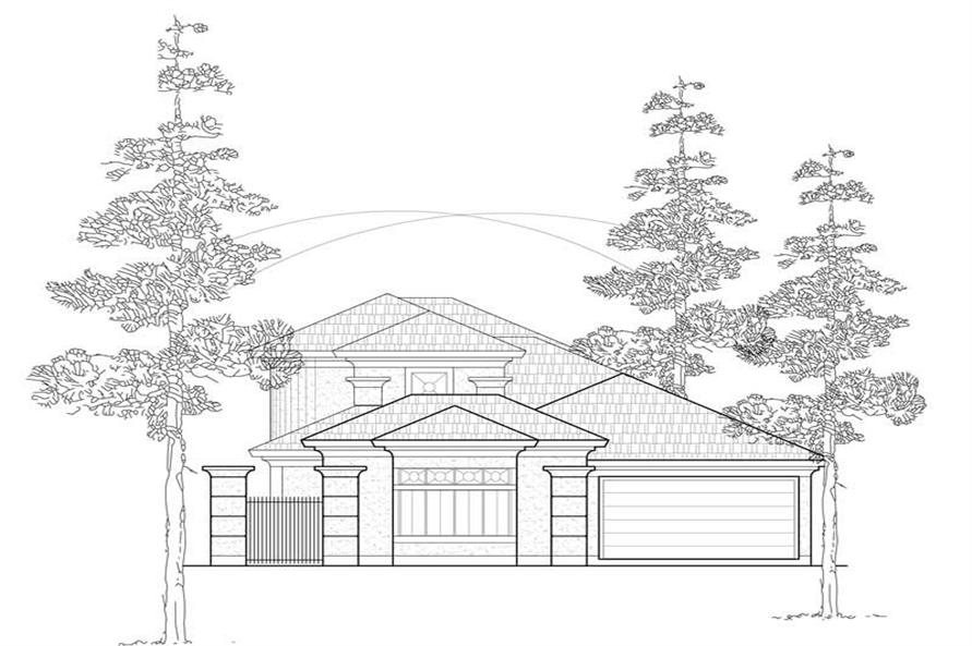 Main image for house plan # 8447