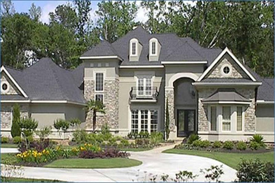Home Exterior Photograph of this 4-Bedroom,4964 Sq Ft Plan -134-1374