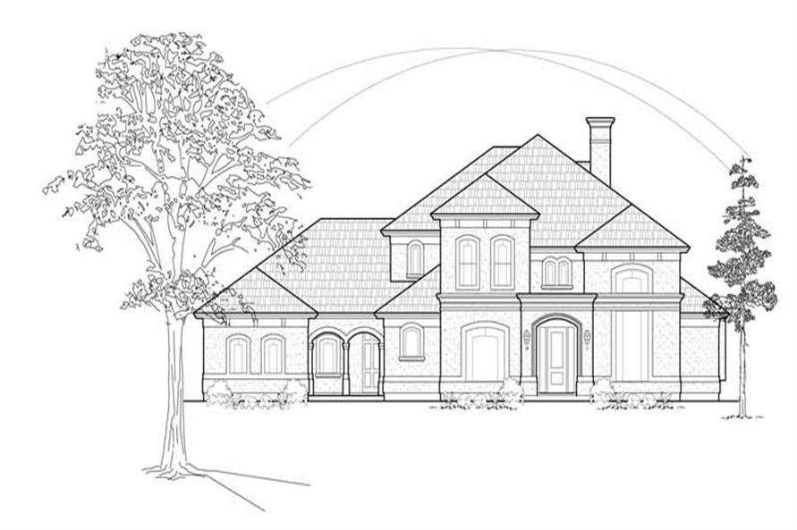 Main image for house plan # 8623