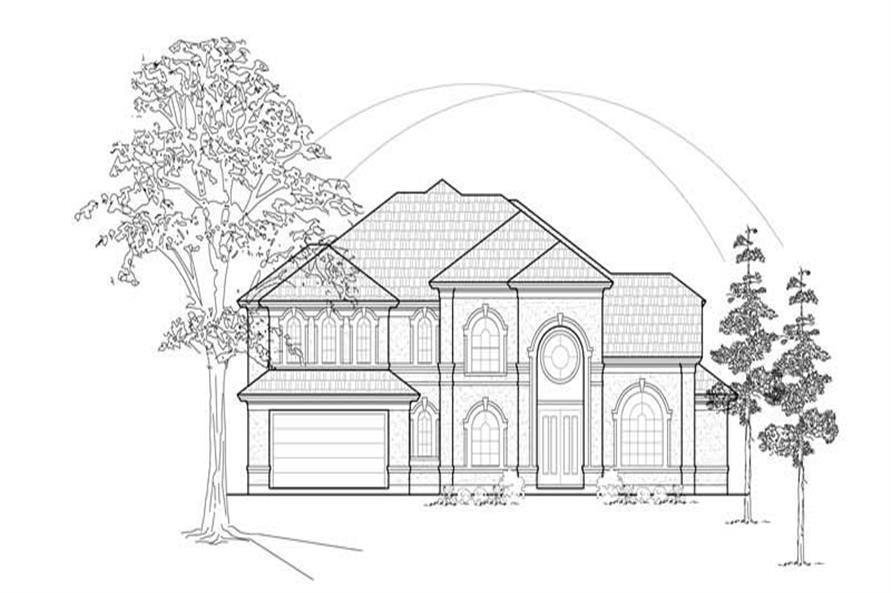 Main image for house plan # 8633