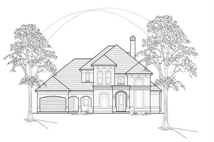 Main image for house plan # 8621
