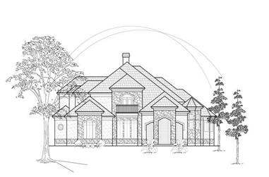 Main image for house plan # 8667