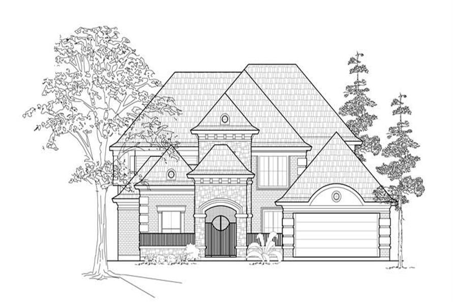 Main image for house plan # 8583