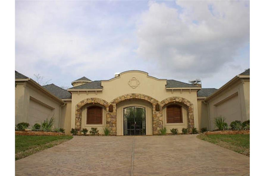 Front Door of this 4-Bedroom,4667 Sq Ft Plan -4667