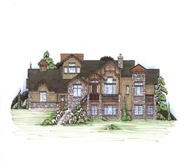 House Plan #135-1009