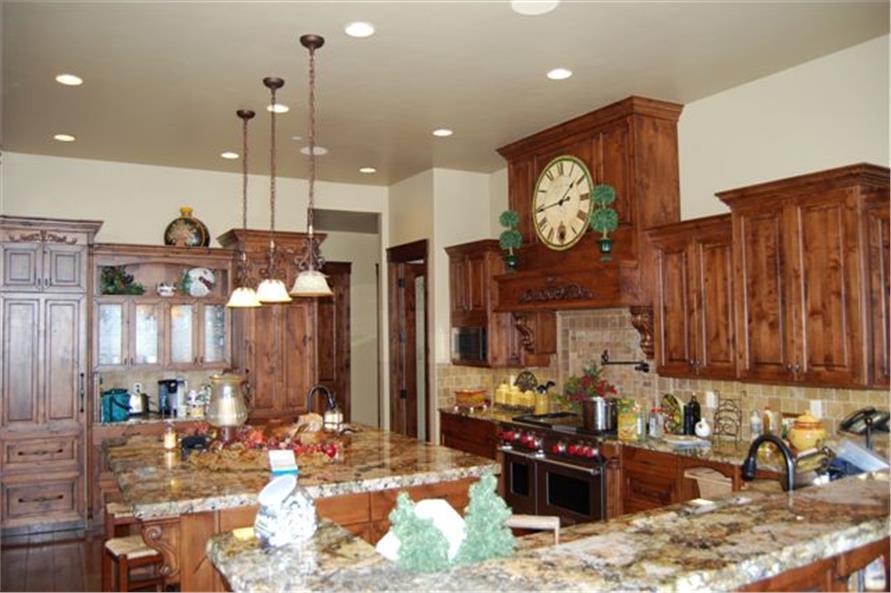 135-1015: Home Interior Photograph-Kitchen