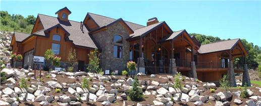 Photo of this luxury Mountain style home (#135-1018)