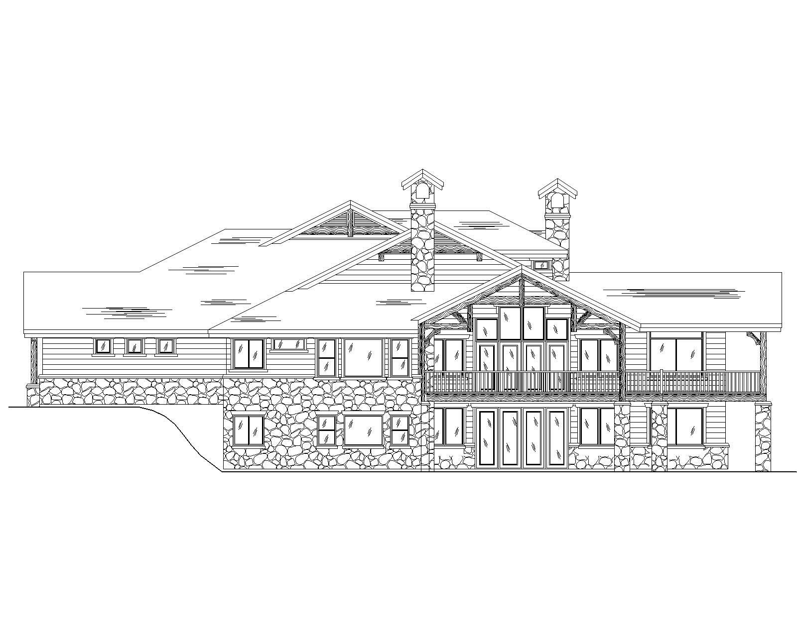 Country House Plans Home Design Vh Ts3458