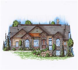 House Plan #135-1030