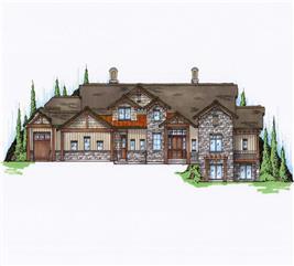 House Plan #135-1036