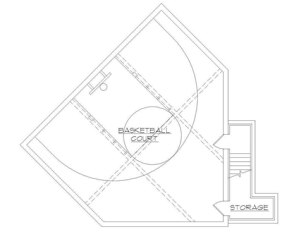 Floor Plan Basketball Court