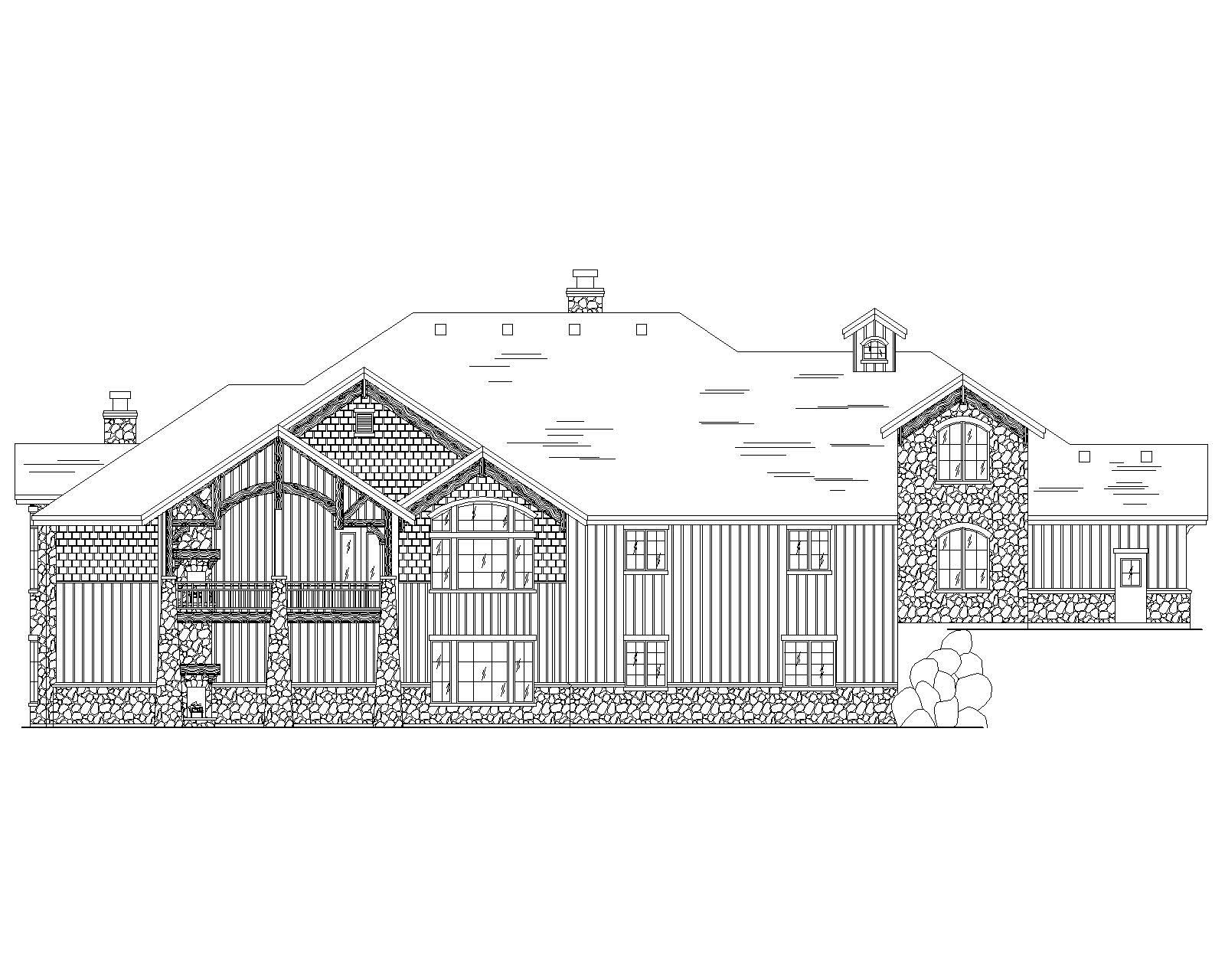 Luxury Country House Plans Home Design Vh Ts3761