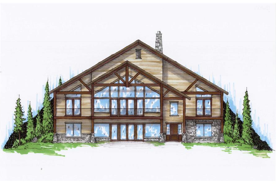 4-Bedroom, 2475 Sq Ft Craftsman Home Plan - 135-1039 - Main Exterior
