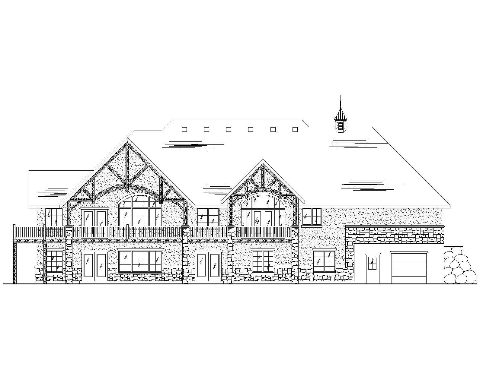 European House Plans Home Design Vh R2458