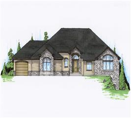 House Plan #135-1043