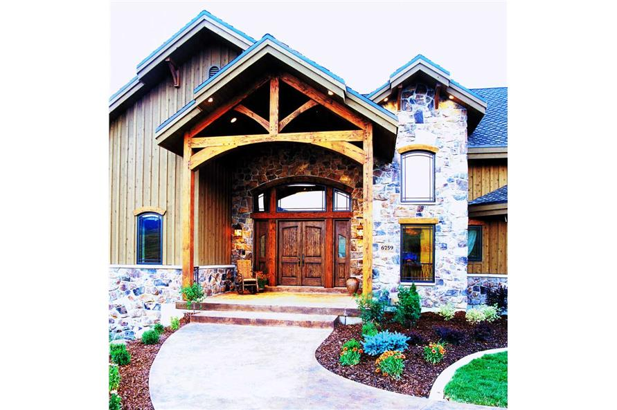 Entry Door of this 3-Bedroom,2495 Sq Ft Plan -2495