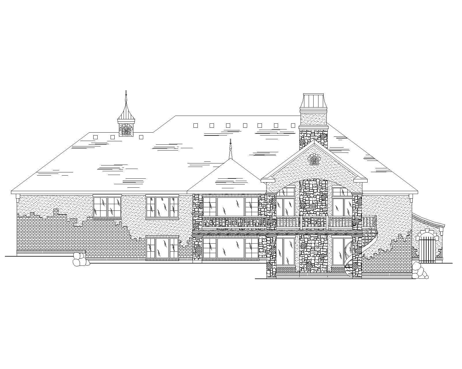 European House Plans Home Design Vh Ts2866