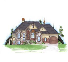 House Plan #135-1052