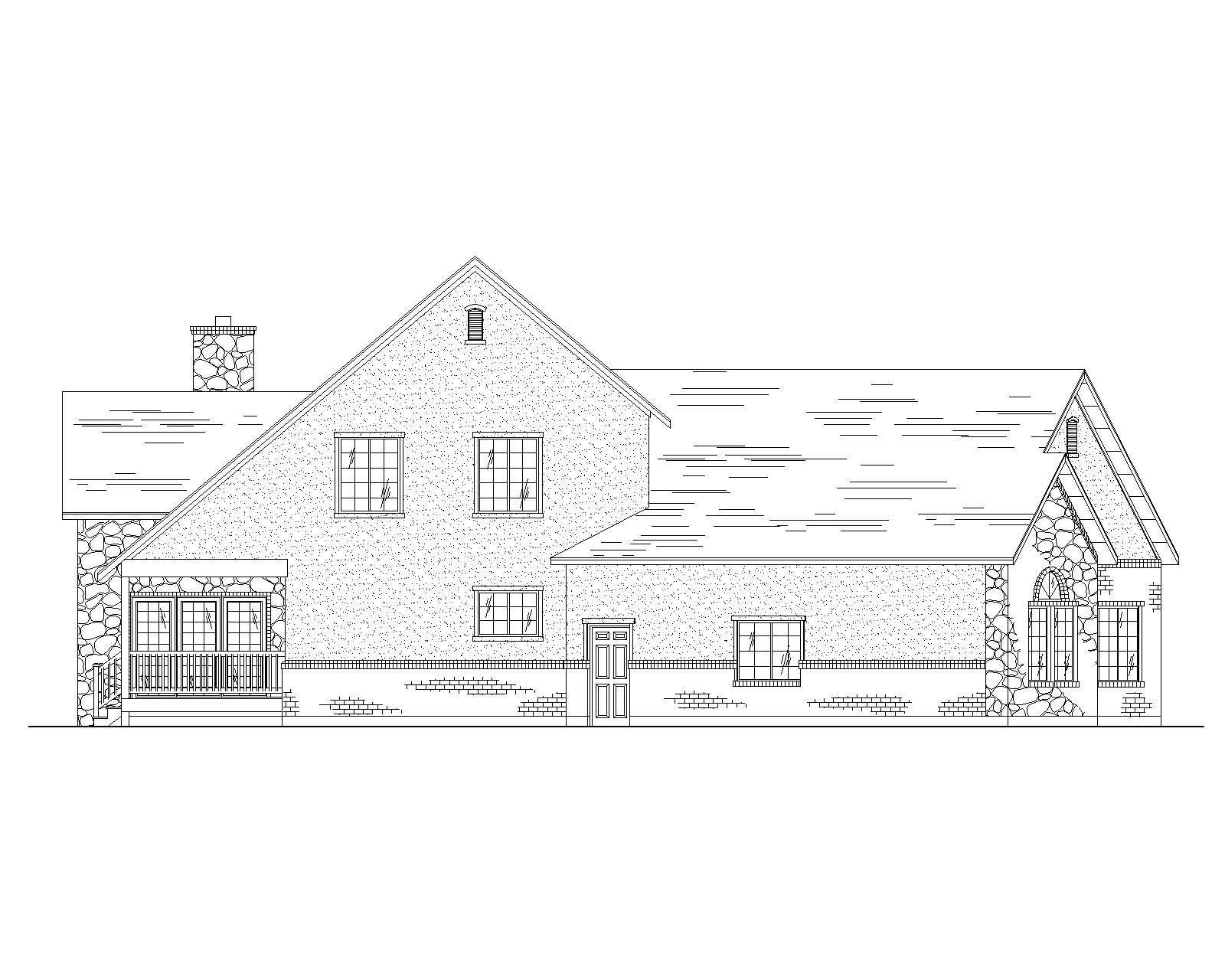 Farmhouse House Plans Home Design Vh Ts2260