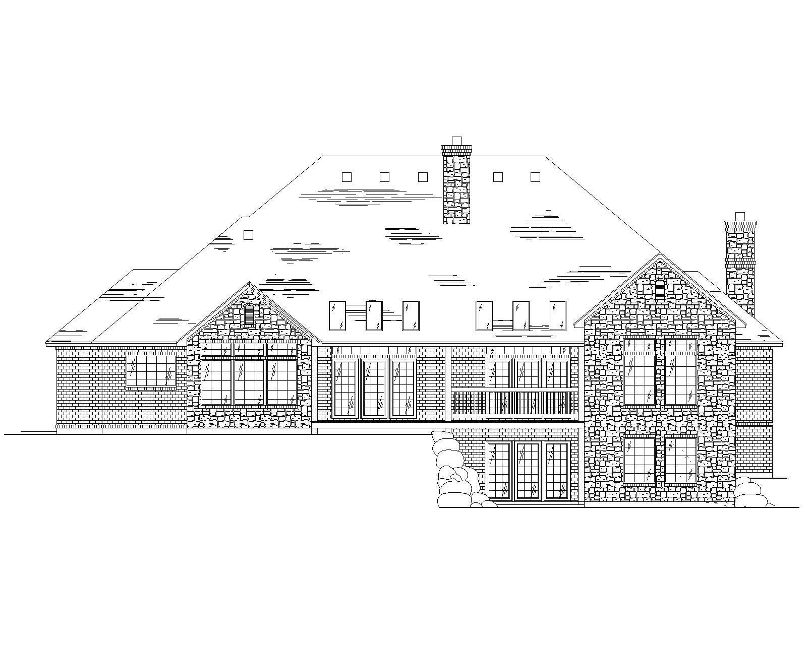 Contemporary House Plans Home Design Vh R3062