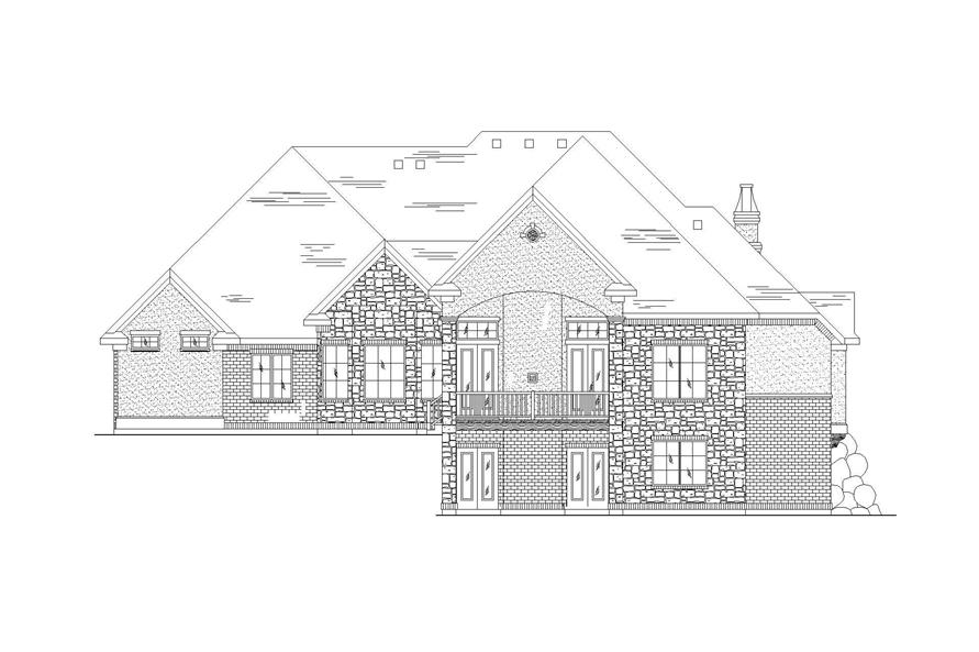 European House Plans Home Design Vh R2681
