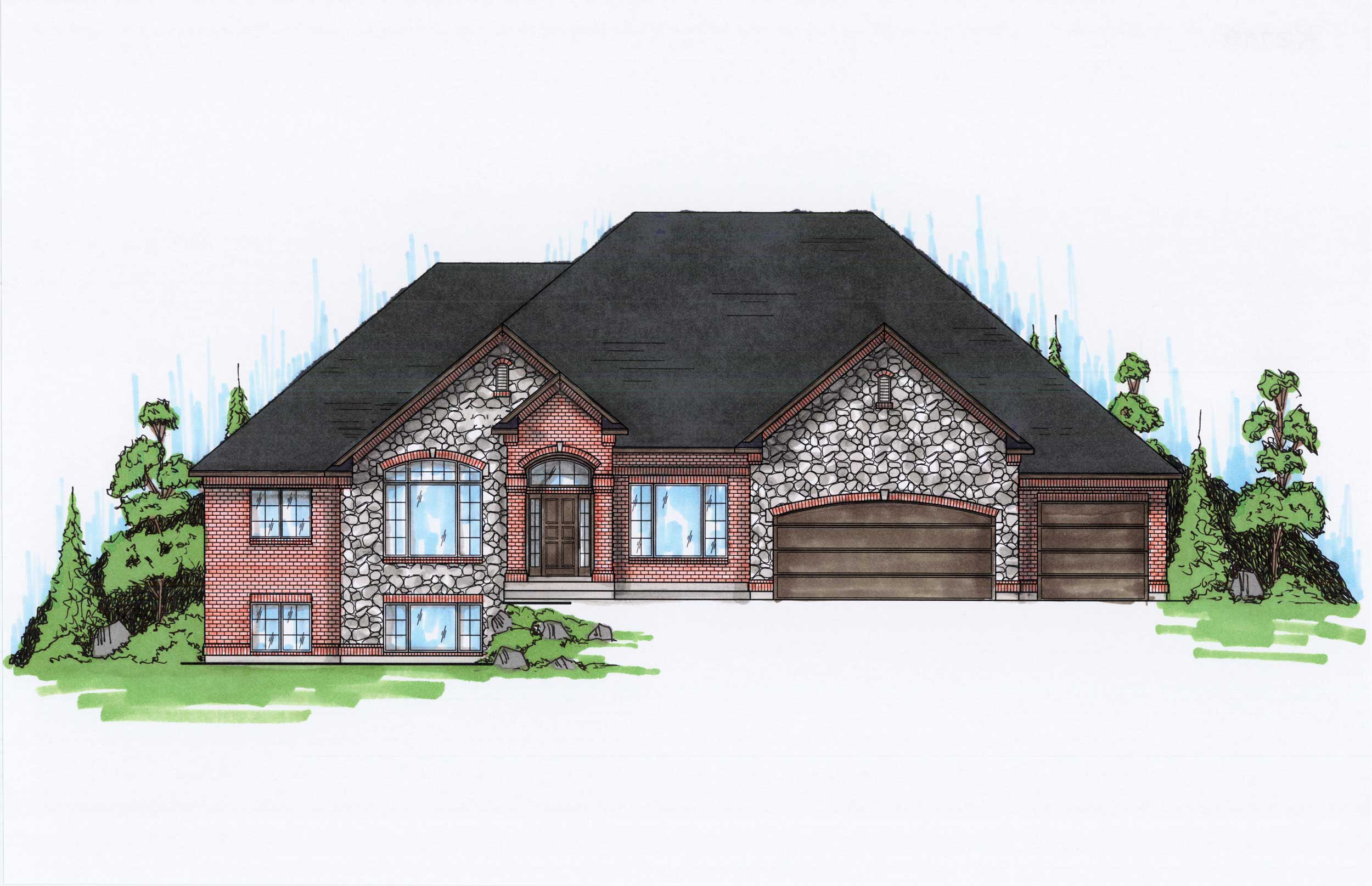 Traditional House Plans Home Design Vh R2798
