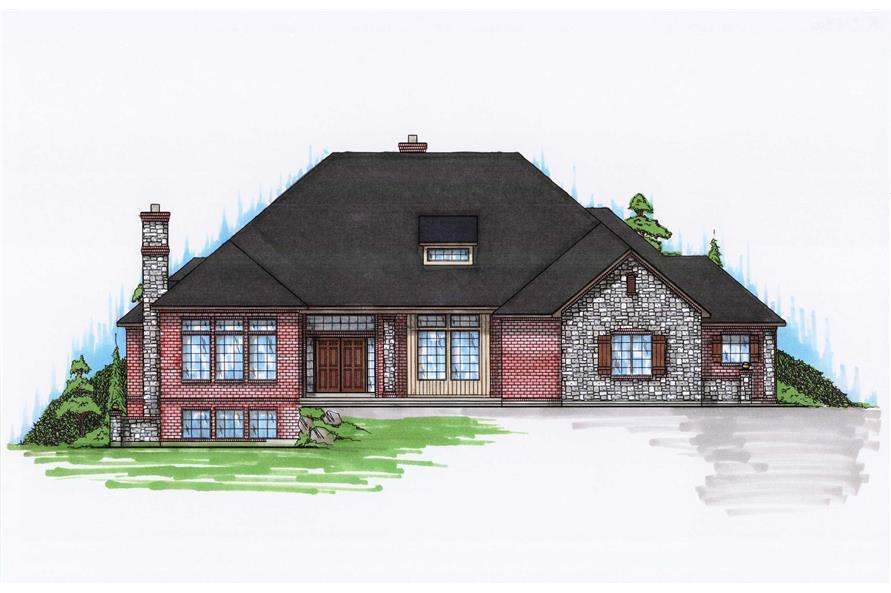Contemporary House Plans Home Design Vh R2936