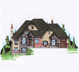House Plan #135-1081