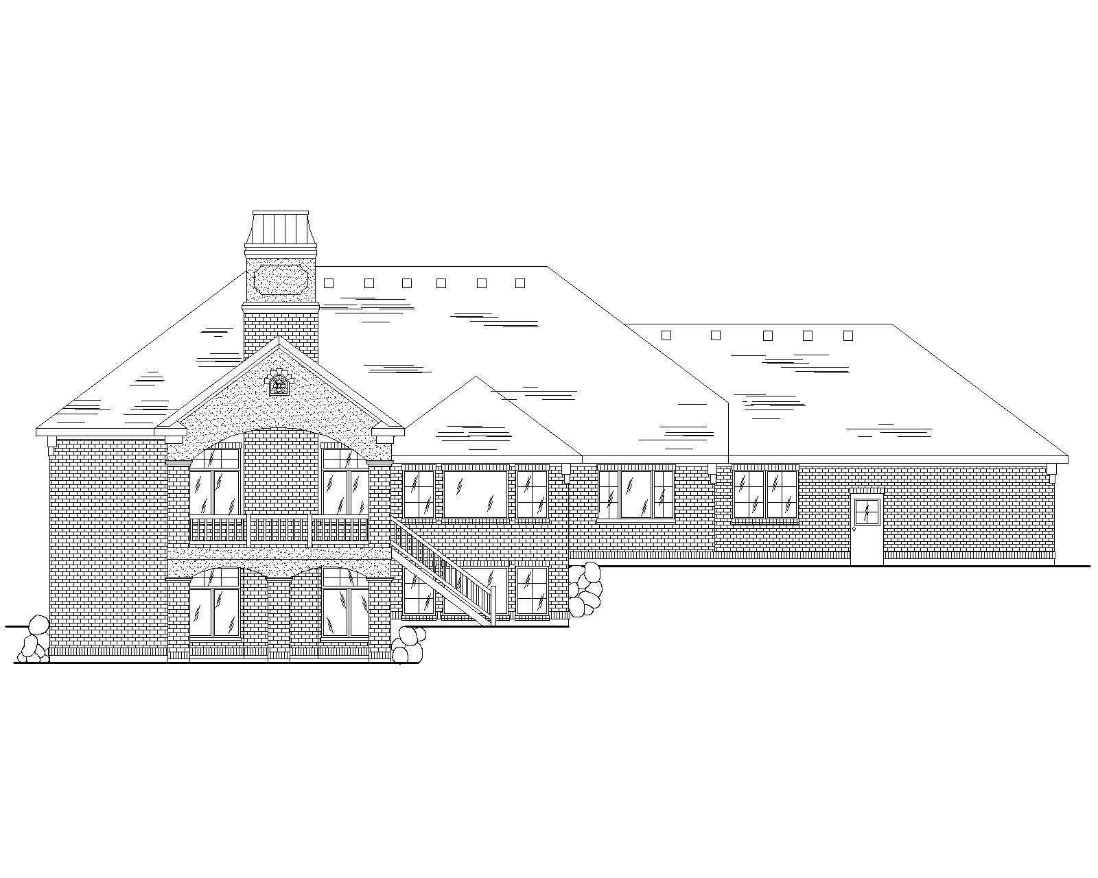European House Plans Home Design Vh R2442