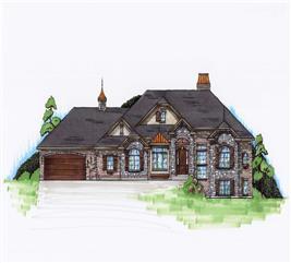 House Plan #135-1083